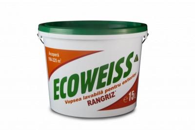 poza Vopsea lavabila pentru exterior Ecoweiss