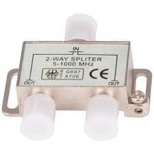 poza Spliter profesional CATV 2 module 5-1000Mhz