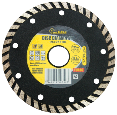 poza Disc Diamantat BuildXell (Turbo)230mm