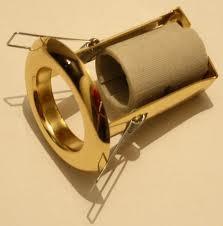 poza Spot incastrat R50 Italia auriu/argintiu