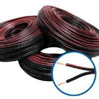 poza Cablu pamblica rosu-negru 2x0,75